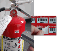 Manage Fire extinguisher inspections using barcodes.  Call for a demo of Traverse - 201-728-8809